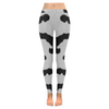Womens Premium Leggings - Custom Animal Fur Prints - Cow Fur Print / S - Clothing hot new items leggings yoga gear