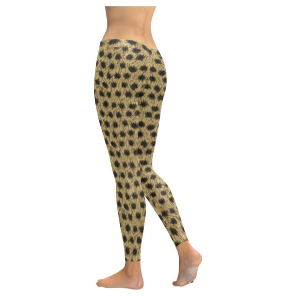 Womens Premium Leggings - Custom Animal Fur Prints - Clothing Hot New Items Leggings Yoga Gear