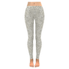 Womens Premium Leggings - Custom Animal Fur Prints - White Fur Print / S - Clothing hot new items leggings yoga gear