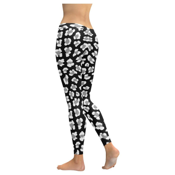 Womens Premium Leggings - Custom Black & White Animal Patterns - Clothing hot new items leggings yoga gear