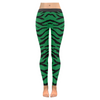 Womens Premium Leggings - Custom Tiger Pattern - Green Tiger / Xxs - Clothing Leggings Tigers Yoga Gear