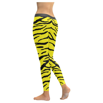Womens Premium Leggings - Custom Tiger Pattern - Clothing Leggings Tigers Yoga Gear