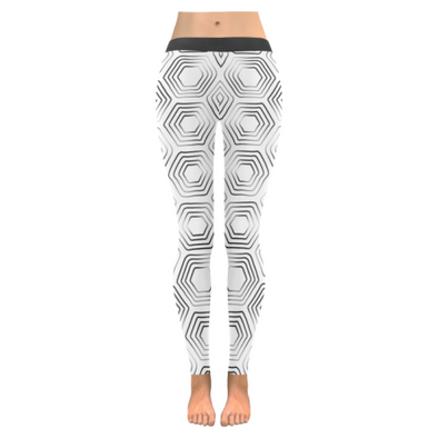 Womens Premium Leggings - Custom Turtle Pattern - White Turtle / Xxs - Clothing Leggings Turtles Yoga Gear