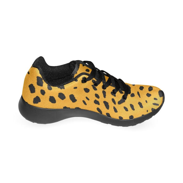 Womens Running Sneakers - Custom Cheetah Pattern - Footwear Big Cats Cheetahs Sneakers