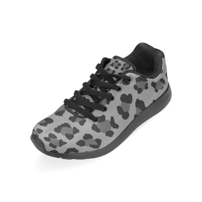 Womens Running Sneakers - Custom Leopard Pattern - Footwear Big Cats Leopards Sneakers