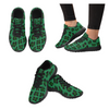 Womens Running Sneakers - Custom Leopard Pattern - Green Leopard / Us6 - Footwear Big Cats Leopards Sneakers