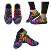 Womens Running Sneakers - Custom Tiger Pattern - Rainbow Tiger / Us6 - Footwear Big Cats Hot New Items Sneakers Tigers