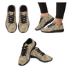 Womens Running Sneakers - Custom Turtle Pattern - Tan Turtle / Us6 - Footwear Sneakers Turtles