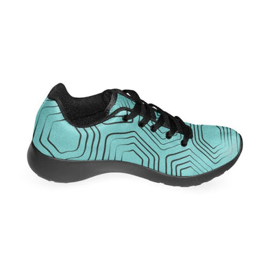 Womens Running Sneakers - Custom Turtle Pattern - Footwear Sneakers Turtles
