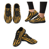 Womens Running Sneakers - Custom Zebra Pattern - Orange Zebra / Us6 - Footwear Sneakers Zebras