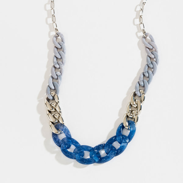 Curb Chain Metal Necklace