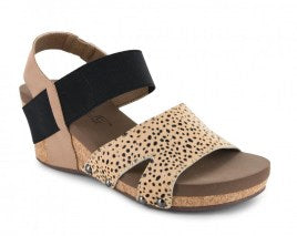 Brown Speckled Newton Sandal