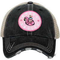 Charcoal Booze Cruise Ball Cap