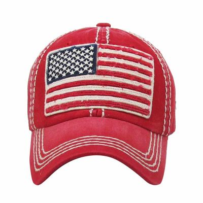 American Flag Ball Cap