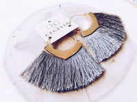 Gold With Grey Tassel
