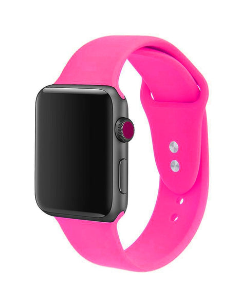 Hot Pink Apple Watch Band