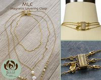 Magnetic Layering Clasp