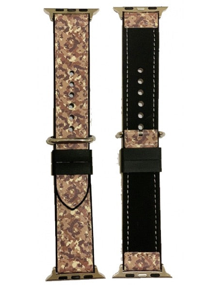 Speckled Print Apple Watch Band