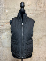 Black/Check Reversible Vest
