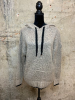 Champagne Knitted Hoodie
