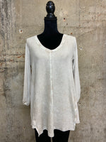 Wind Chime Tunic With Contrast