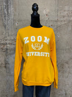Gold Zoom University Sweatshirt