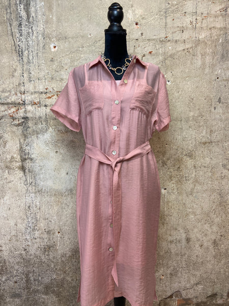 Dusty Pink Alondra Dress