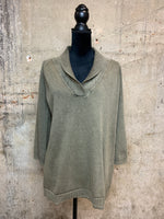 Olive Tunic Sweater