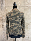 Acid Washed Camo Jacket