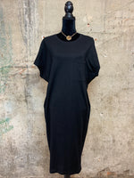 Black Boyfriend T-Shirt Dress