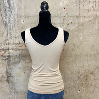 Reversible V-neck & Scoop Neck Cami