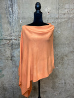 Faux Cashmere Versatile Poncho - Multiple Colors Available