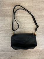 Black Two-toned Slouch Bag In A Bag