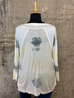 Yellow/Fog Scoop Top