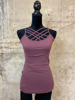 Criss-Cross Layering Cami - Multiple Color Options Available