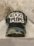 Camo Dog Mom Ball Cap