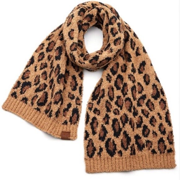 C.C. Leopard Boucle Knit Collection