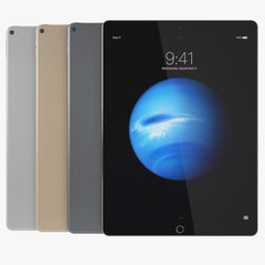 Apple iPad Pro All Colors 3D Model