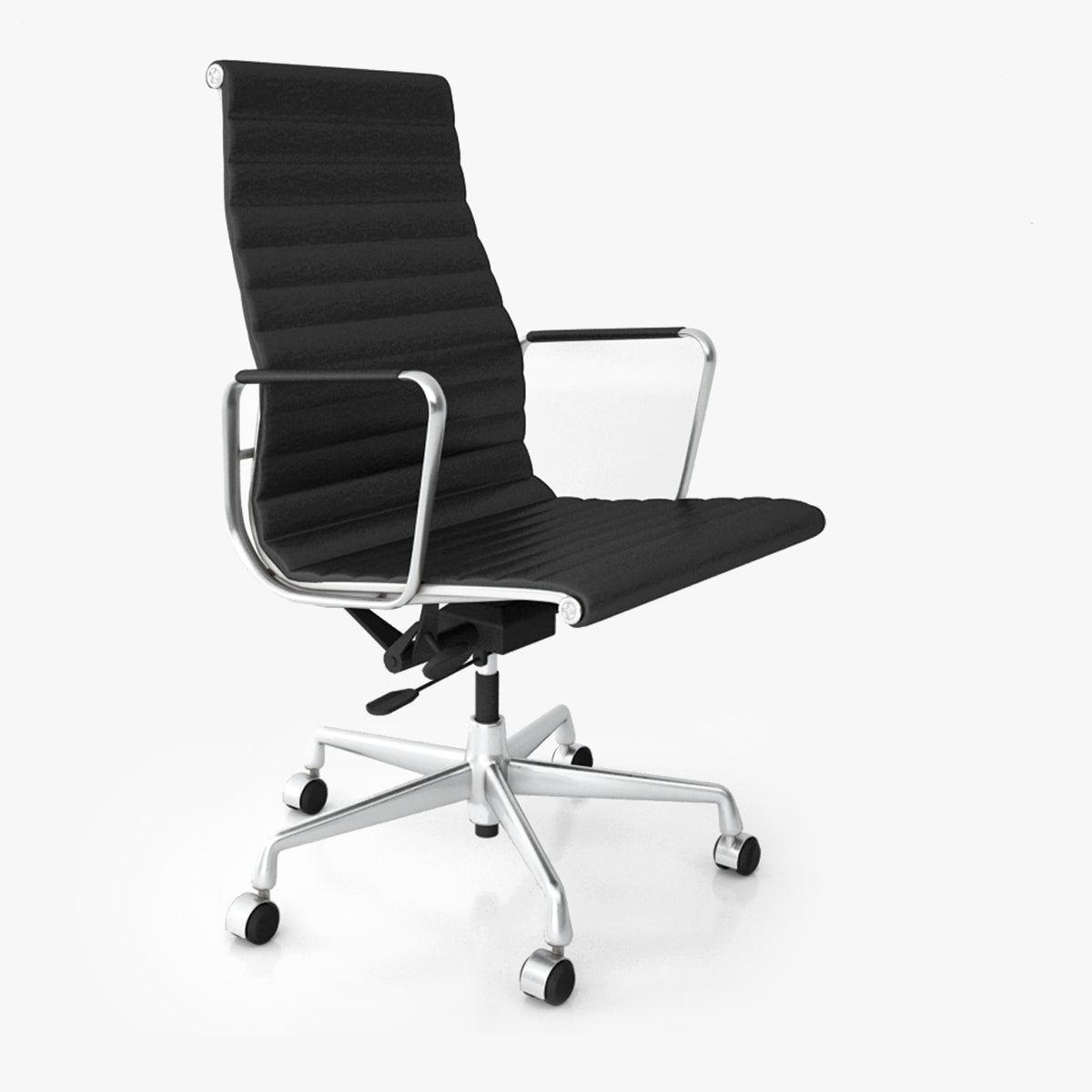 Vitra Aluminium Chair EA 119 3D Model