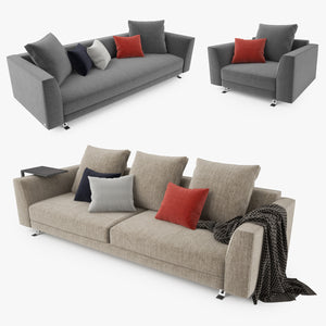 Busnelli Burton Sofa Collection 3D Model