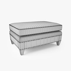 Crate and Barrel Durham Sofa Collection 3D Model