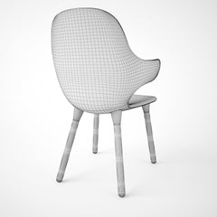 And Tradition Catch Chair JH1 3D Model
