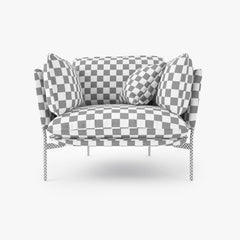 And Tradition Cloud Sofa Collection 3D Model
