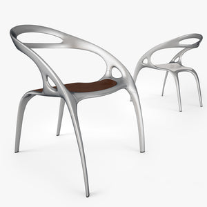 Bernhardt Design Go Chair 3D Model