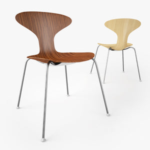 Bernhardt Design Orbit Wood Chair 3D Model