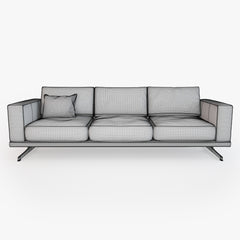 FREE BoConcept Carlton sofa 3D Model
