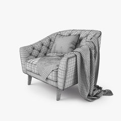 Busnelli Amouage Chair 3D Model