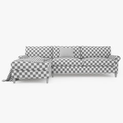 Crate and Barrel Montclair Sectional Sofa 3D Model