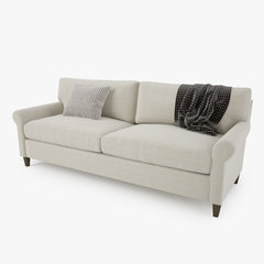 Crate and Barrel Montclair Sofa Collection 3D Model