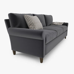 Crate and Barrel Montclair 3 Seat Sofa 3D Model